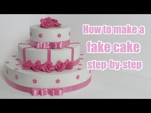 'How to make a fake cake step-by-step' on ViewPure