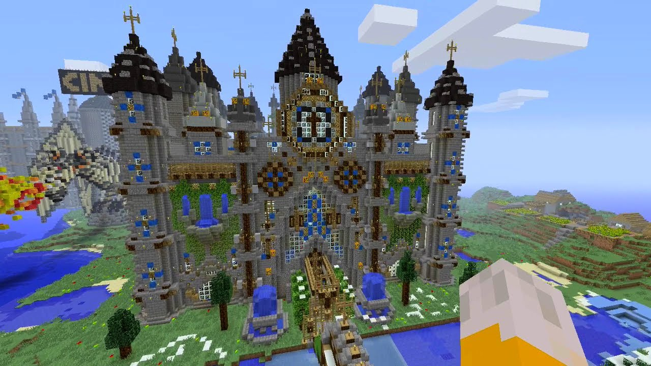 Minecraft Xbox - Cathedral Mega Build