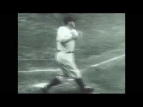 BABE RUTH'S (1932 WS) CALLED HOME RUN SHOT' RARE VIDEO & COMMENTARY