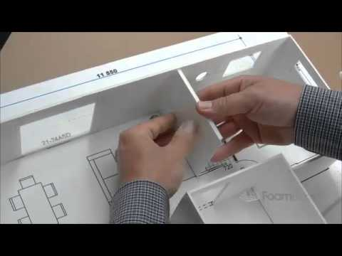 'Building Foam board Models Making House Scale Model PART 4' on ViewPure