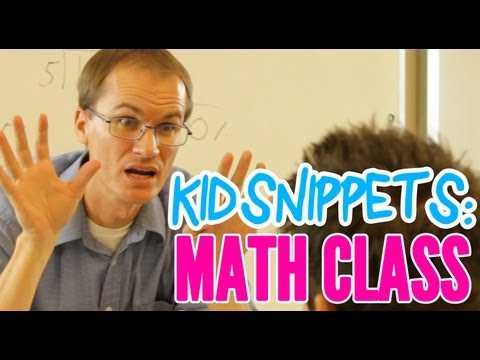 "'Kid Snippets: ""Math Class"" (Imagined by Kids)' on ViewPure"