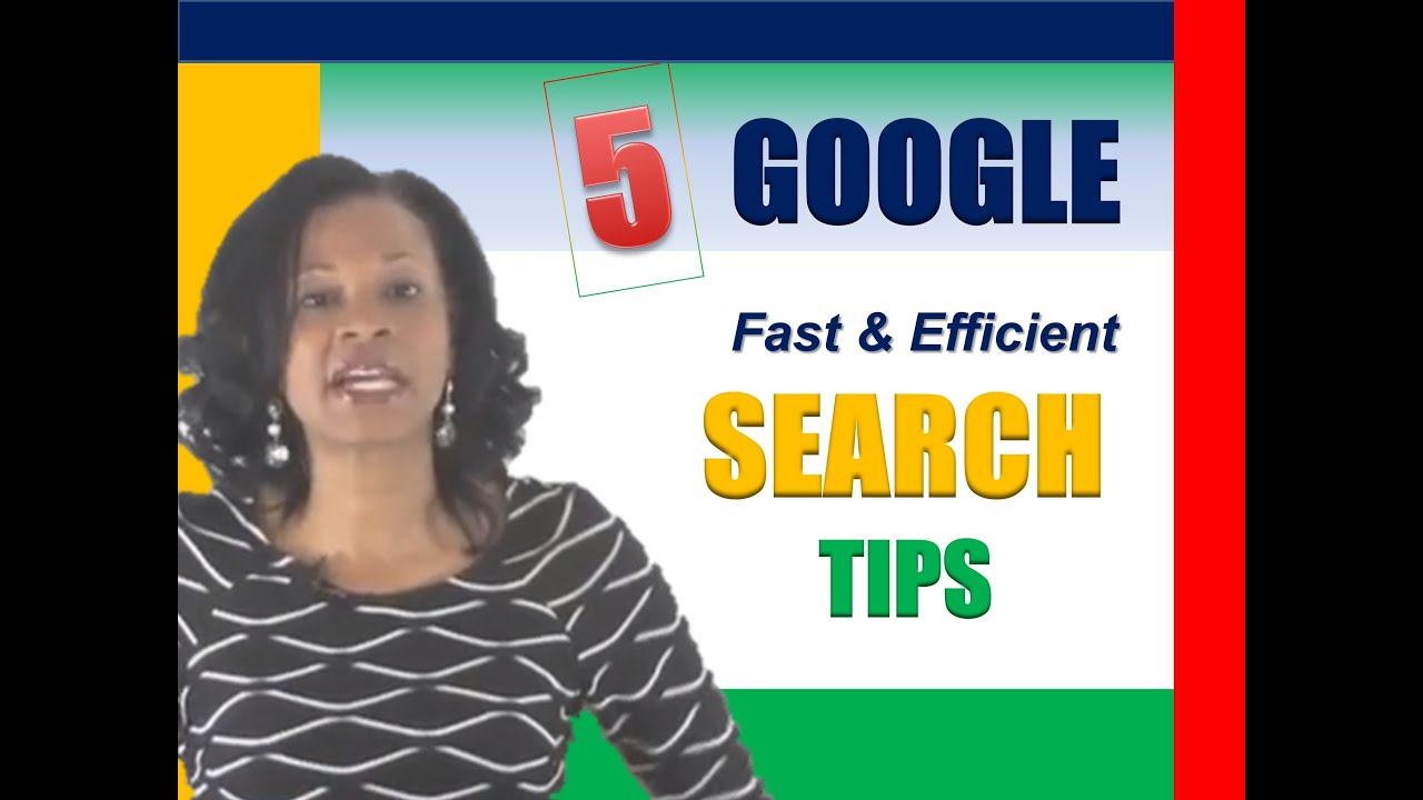 5 Quick Must Know Google Search Tips