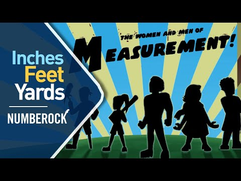 'INCHES FEET and YARDS Song: Measurement Song For Kids' on ViewPure