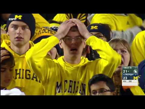 'Michigan State Wins on Mishandled Michigan Punt' on ViewPure