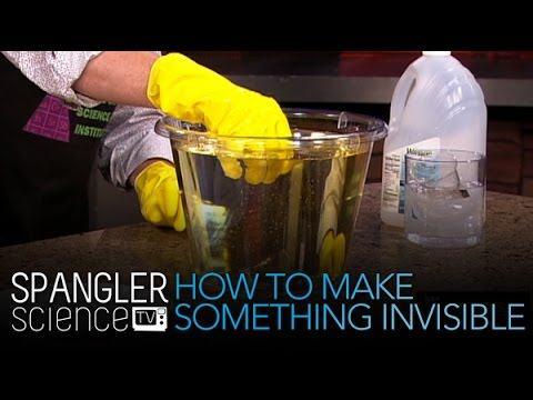 'How To Make Something Invisible - Cool Science Experiment' on ViewPure