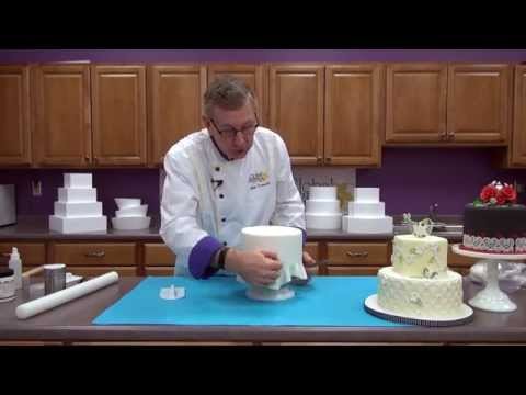 'How to Cover a Cake Dummy' on ViewPure