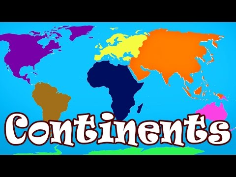 'Kid Songs | Seven Continents Song for Children | The Continents Song' on ViewPure