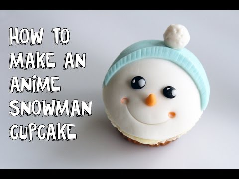 'Adorable Fondant Snowman Christmas Cupcakes:Cake Decorating For Beginners' on ViewPure