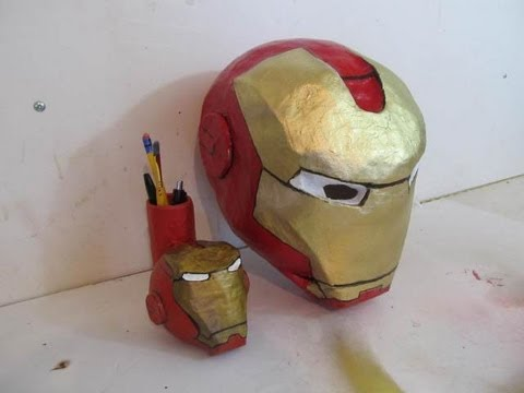 'How to make the Iron Man Helmet' on ViewPure