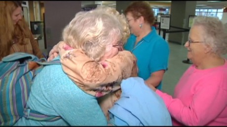 Mother, daughter reunited after 82 years - CNN Video