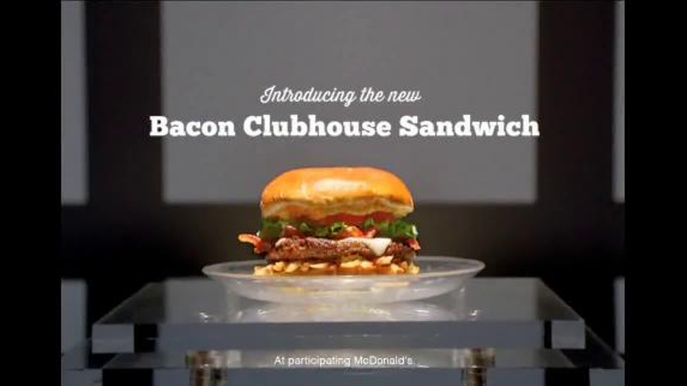 McDonald's Bacon Clubhouse TV Commercial, 'The Club' Featuring LeBron James