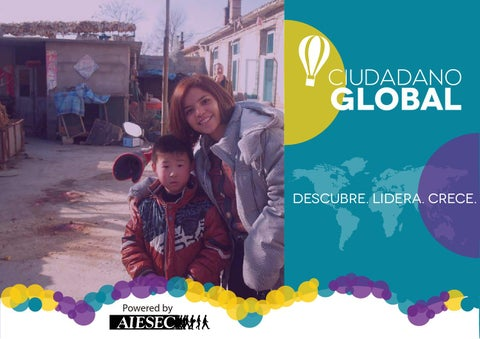 AIESEC Perú - Booklet Ciudadano Global
