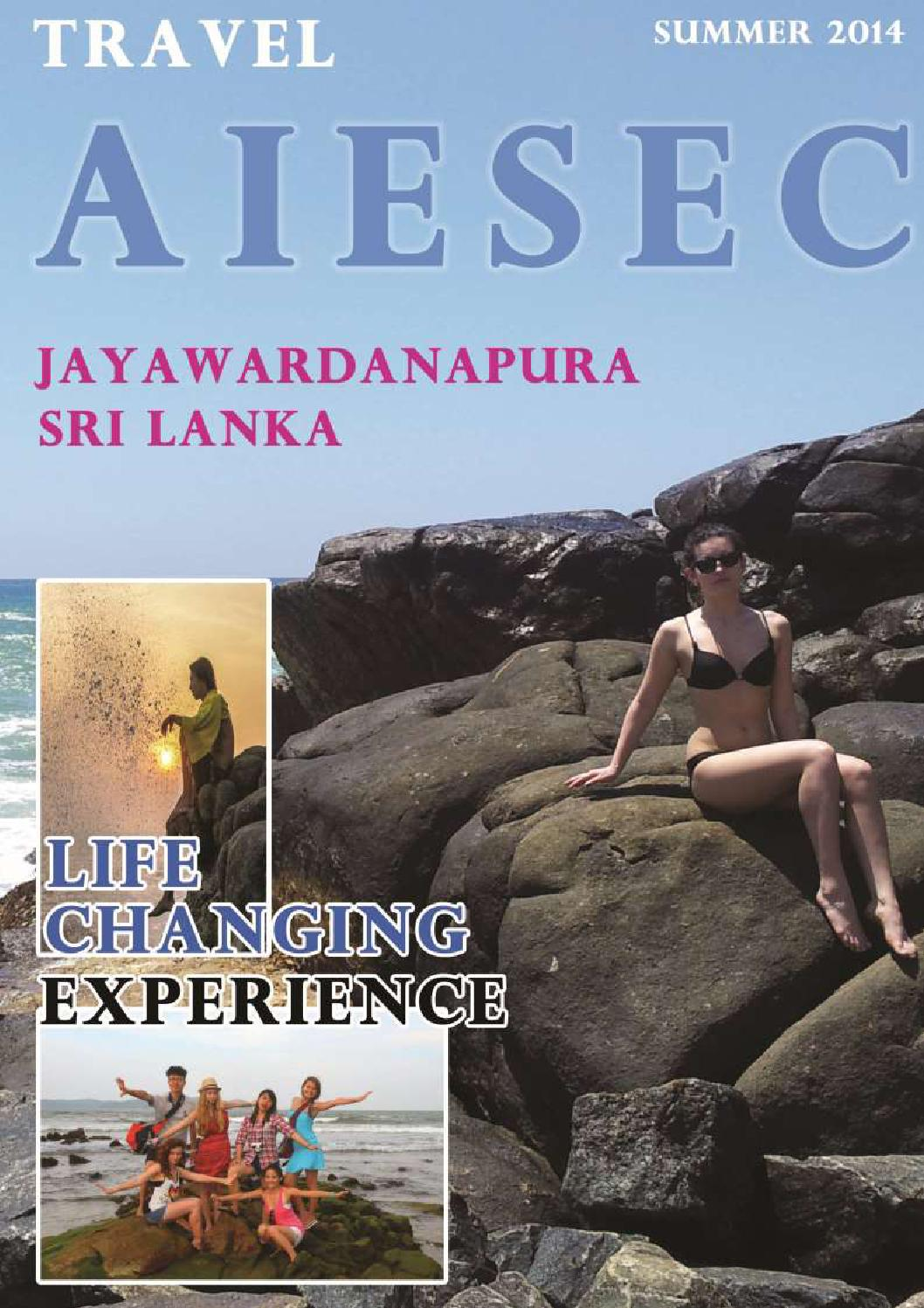 Aiesec jayawardanapura - Reception booklet