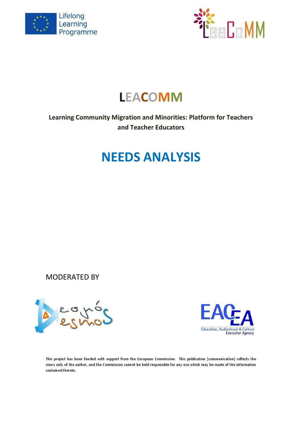 Leacomm final analysis report
