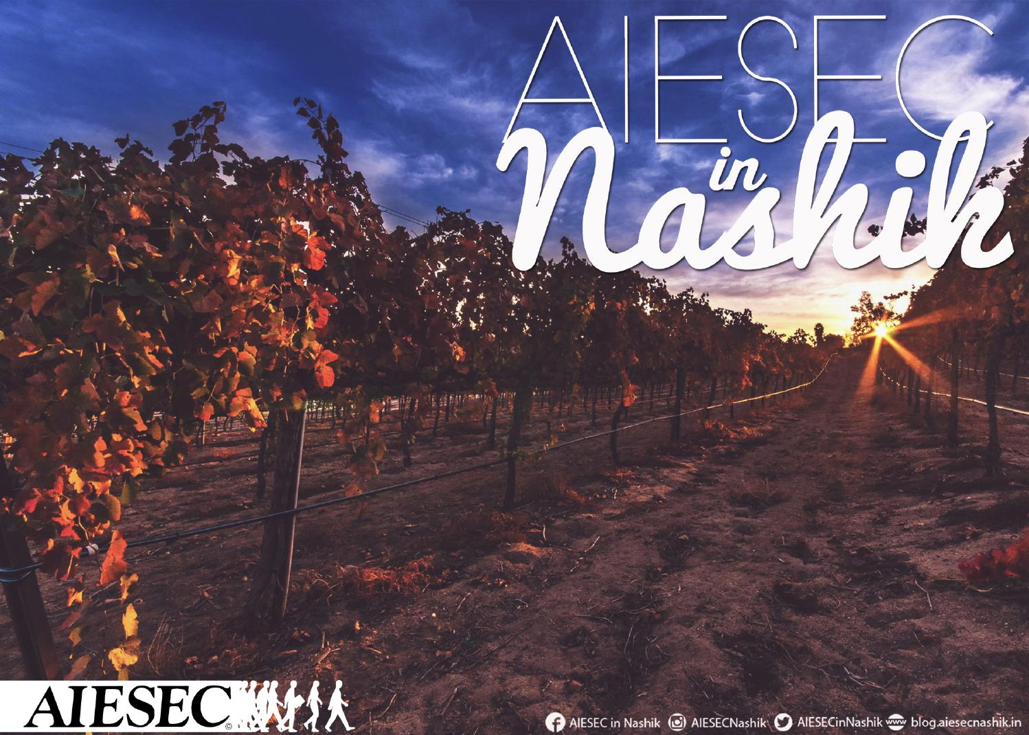 AIESEC in Nashik Global Citien Project booklet