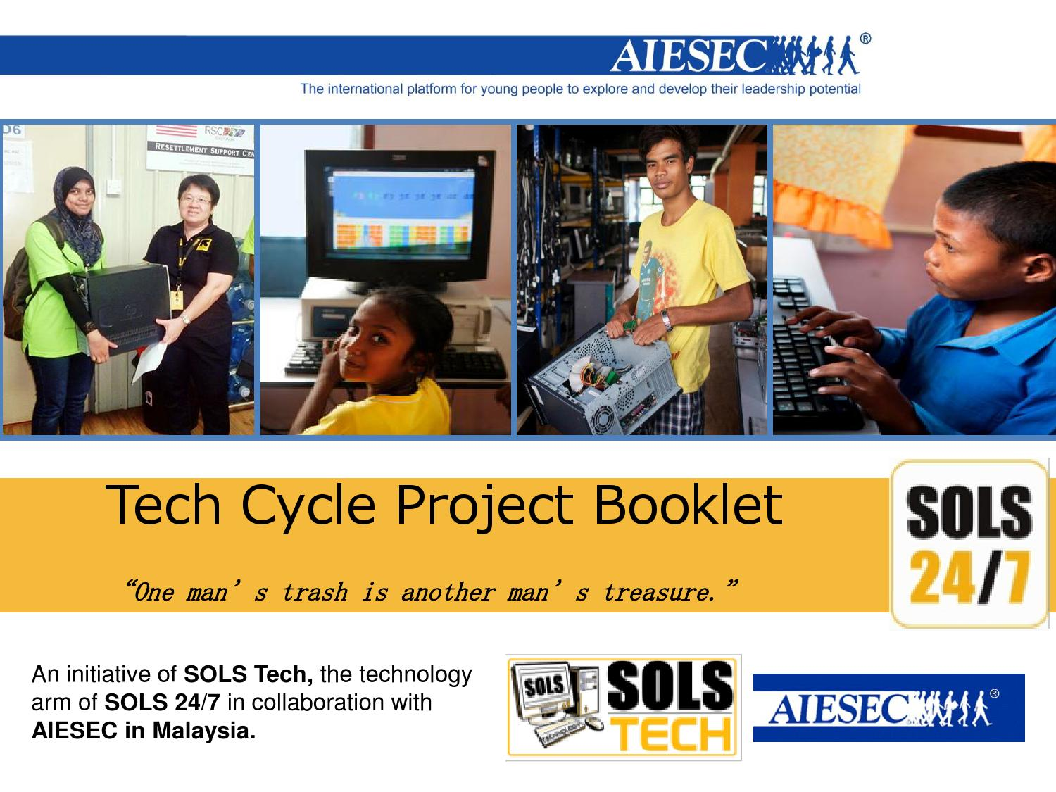 Techcycle MC Project Booklet