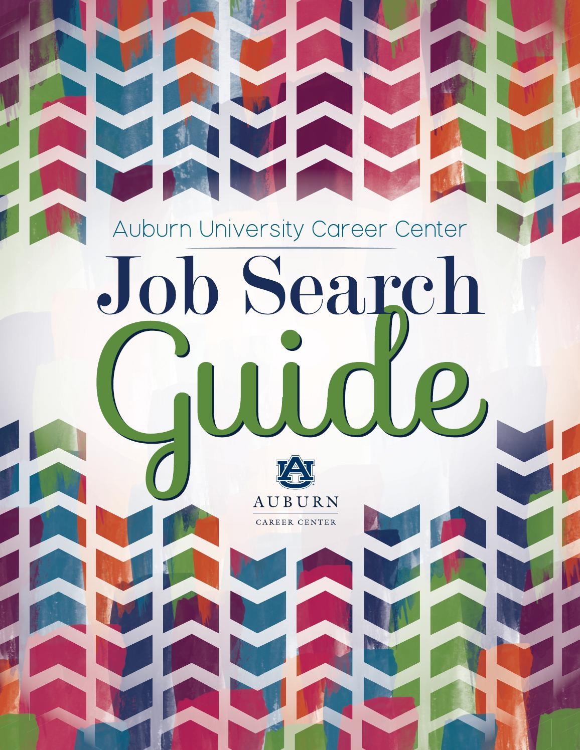 Auburn University Career Center - Job Search Guide 2015-2016