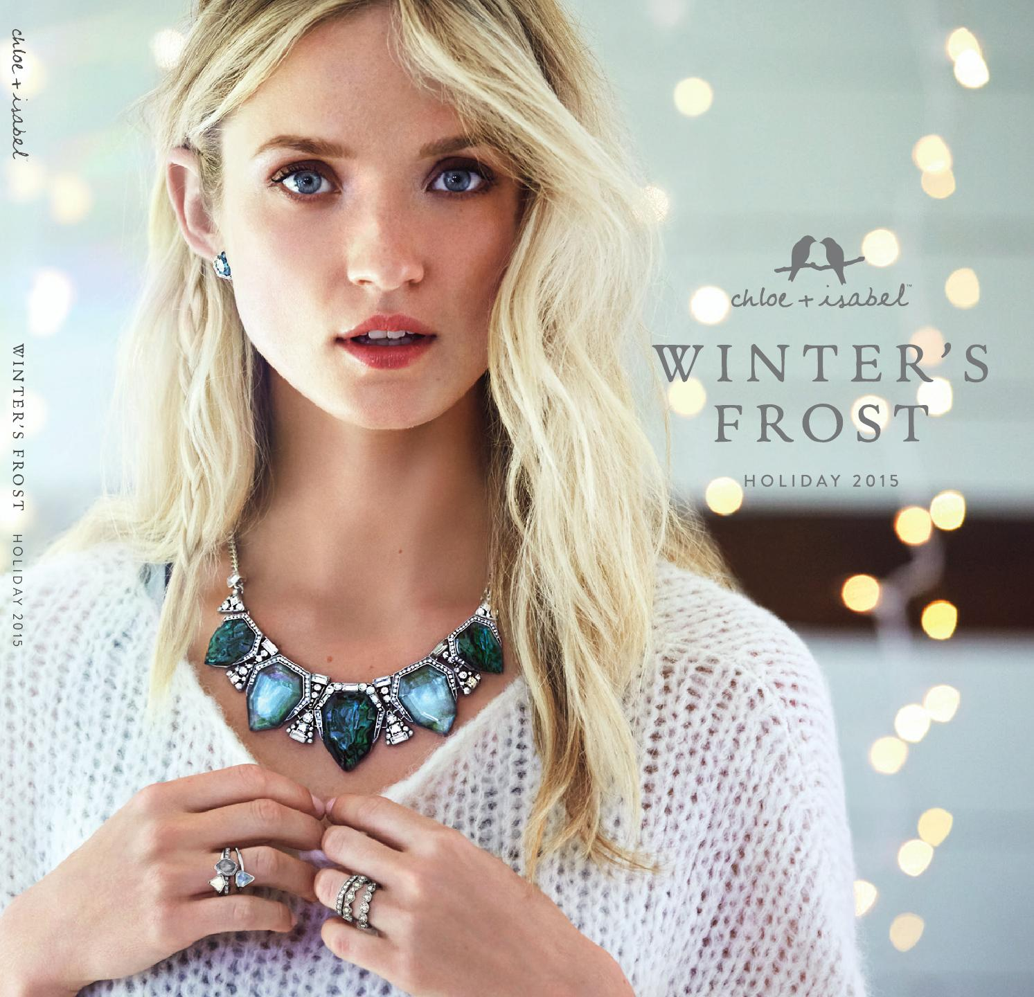Winter's Frost - Holiday 2015 Collection