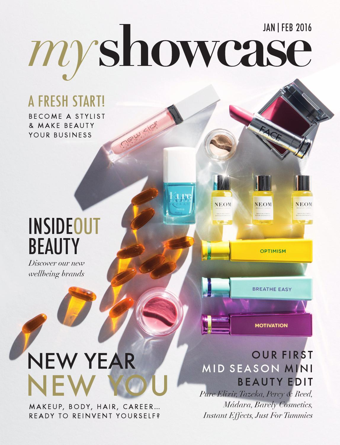 MyShowcase Mini Beauty Book - Jan | Feb 2016