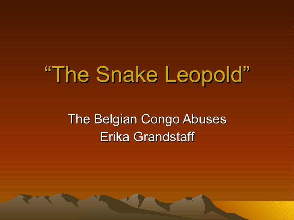 The Snake Leopold