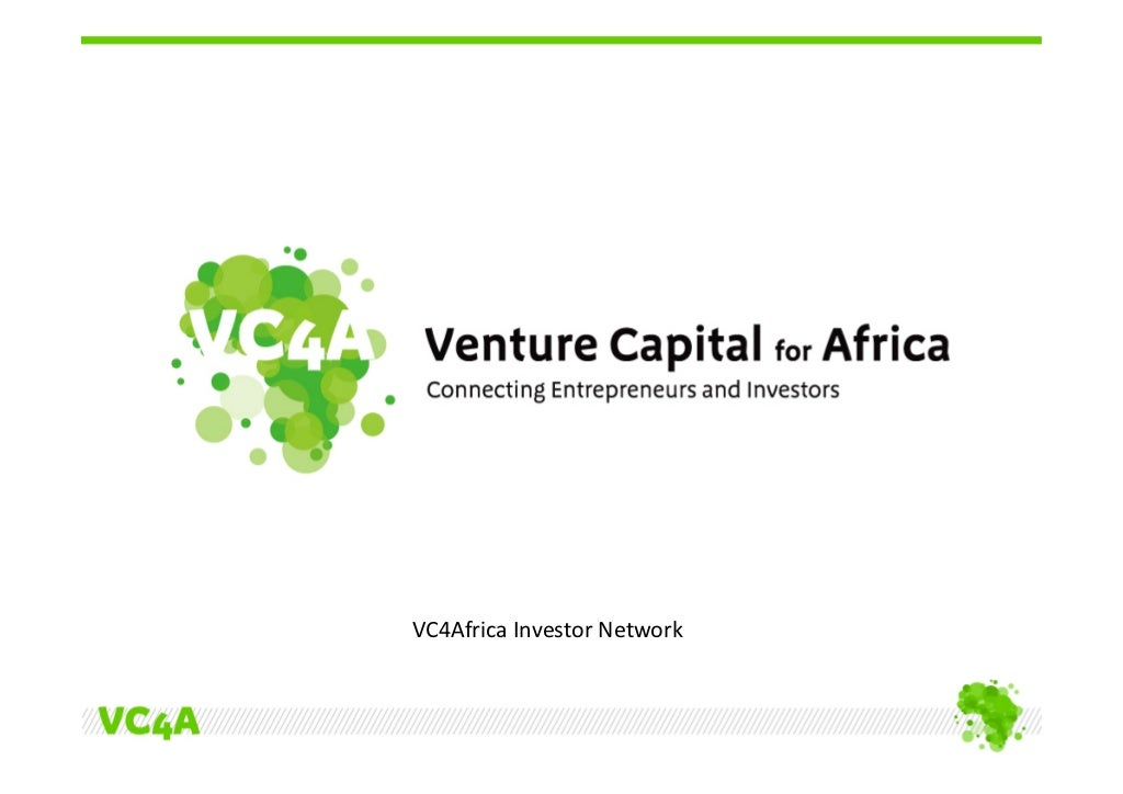Invitation VC4Africa Investor Network