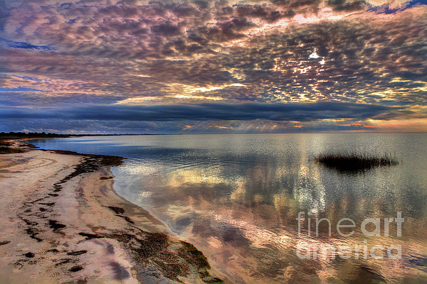 Buttermilk Sunset Over Pamlico Sound by Dan Carmichael