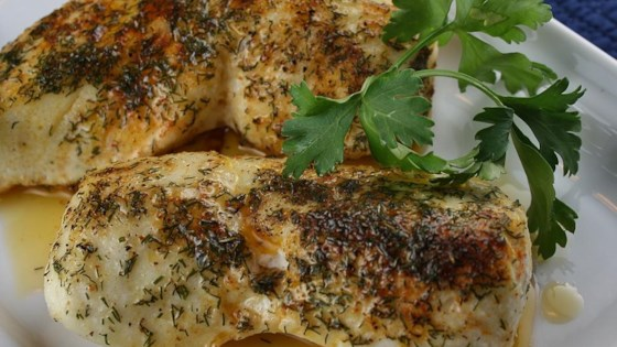 Fresh Herbed Halibut Recipe