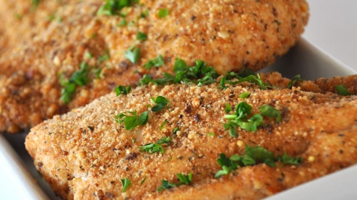 Baked Garlic Parmesan Chicken Recipe