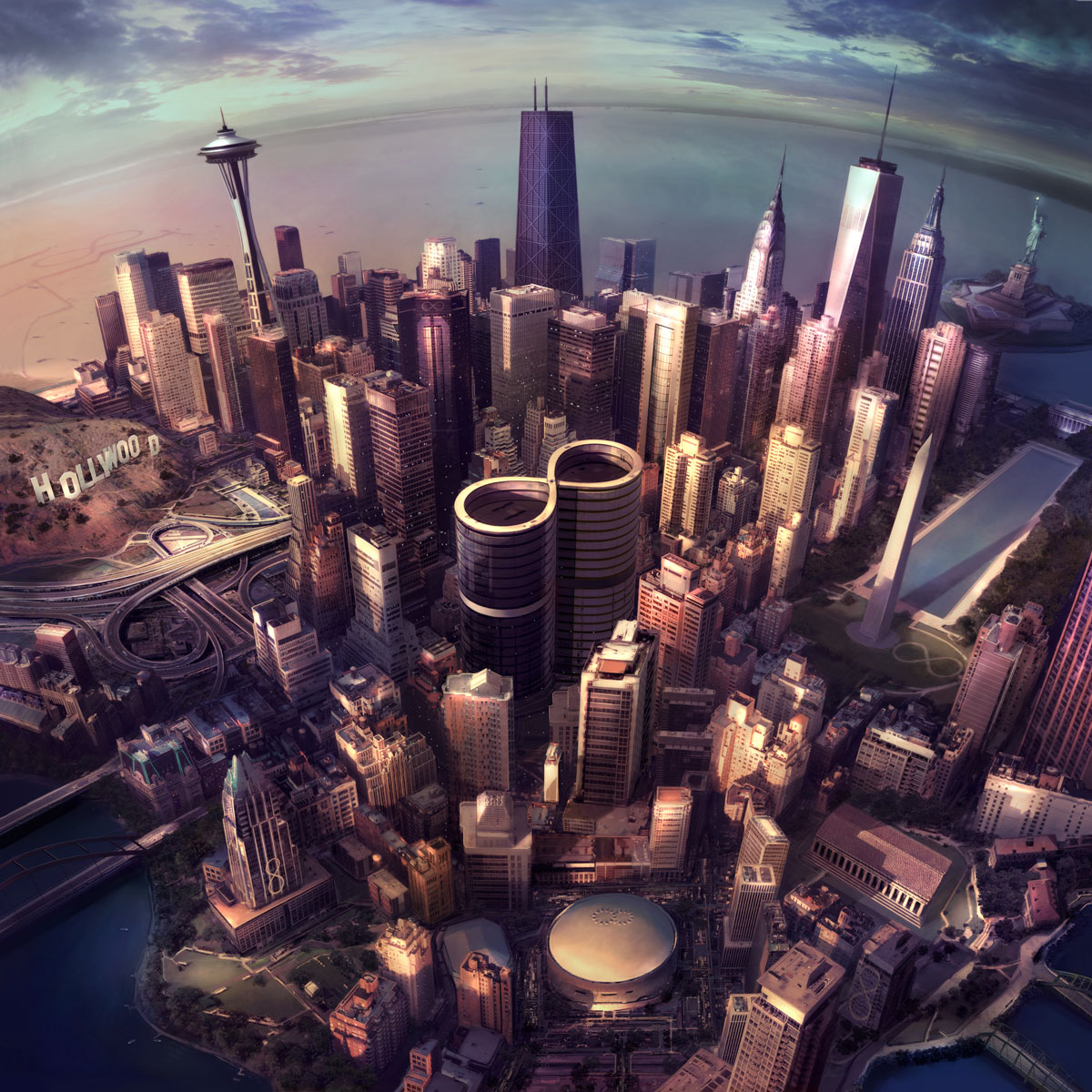 Foo Fighters. Sonic Highways. Album Out Nov. 10th