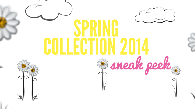 Spring Collection 2014 Sneak Peek Video - from Spring Collection 2014 Sneak Peek