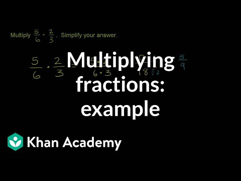 Multiplying two factions: example