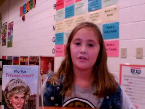 Who Was Princess Diana?  Book Talk by Evelyn