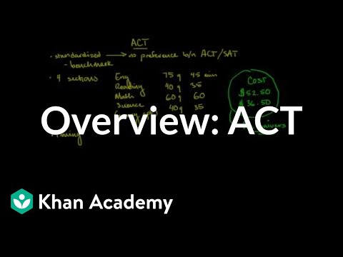 Overview of the ACT