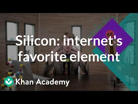 Silicon: The internet's favorite element