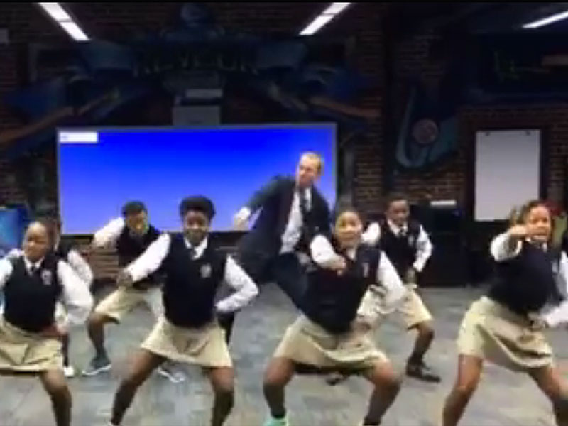 Atlanta Teacher Shows off Impressive Dance Moves Alongside Students in Heartwarming Viral Video