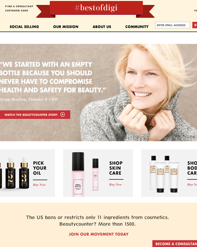 Bloom with Eco-Beauty - Beauty Counter
