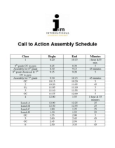 AM Assembly Schedule- Call to Action-1