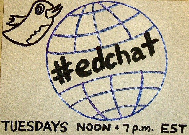 Display an #EdChat in your Faculty Lounge - Instructional Tech Talk
