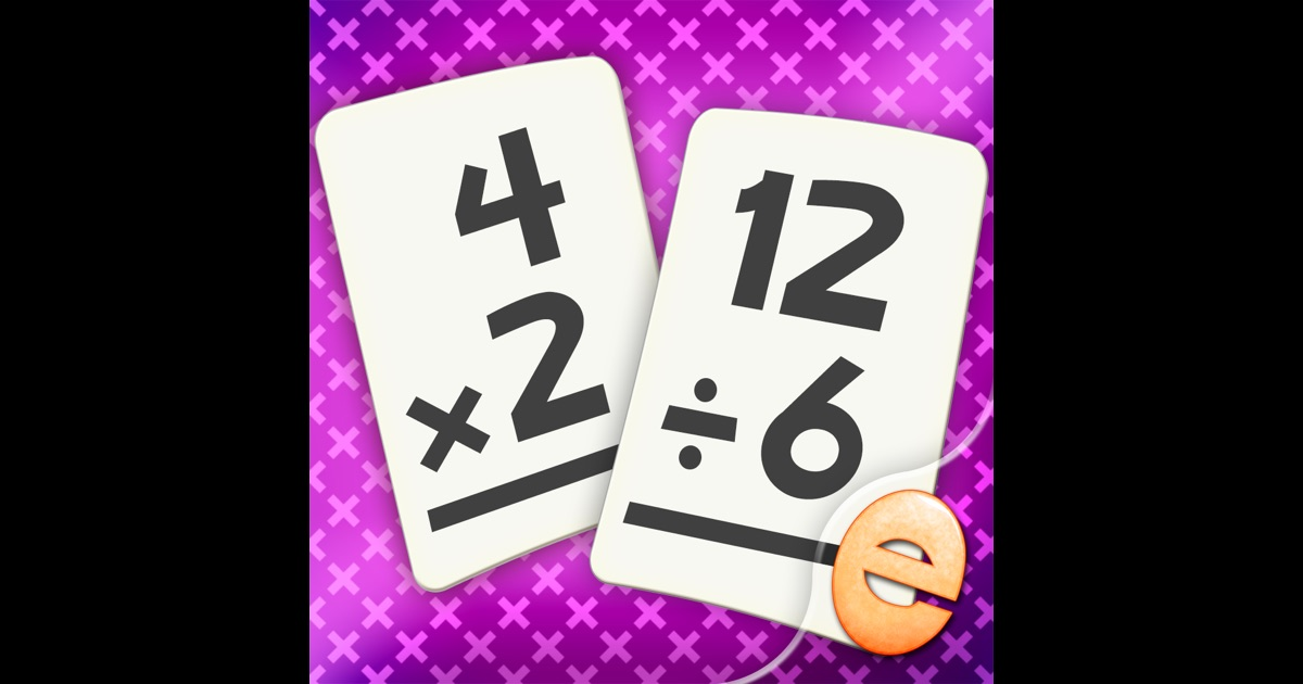 Multiplication and Division Math Flashcard Match Games for Kids in 2nd and 3rd Grade on the App Store