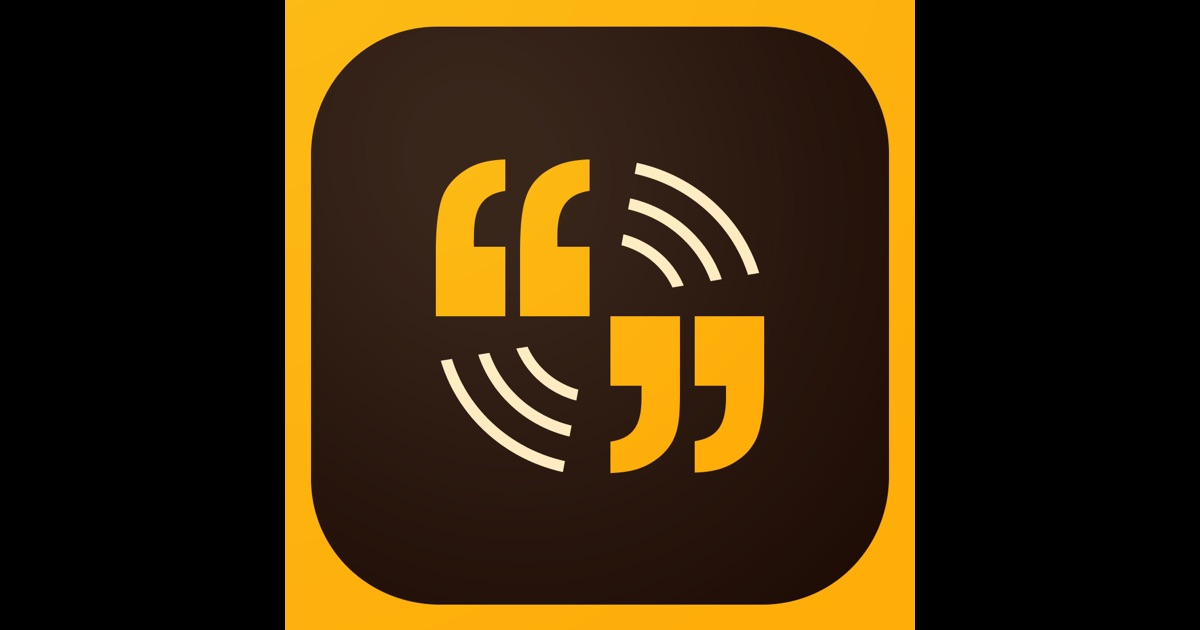 Adobe Voice – Show your story on the App Store