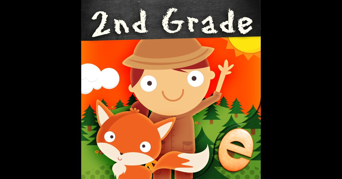 Animal Second Grade Math Games for Kids in First, Second and Third Grade Premium on the App Store