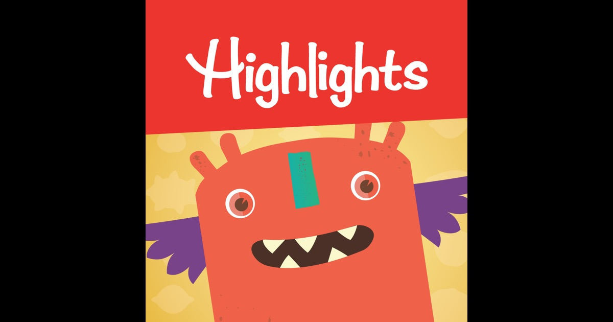 Highlights Monster Day: Play at Home Game for my Preschooler on the App Store