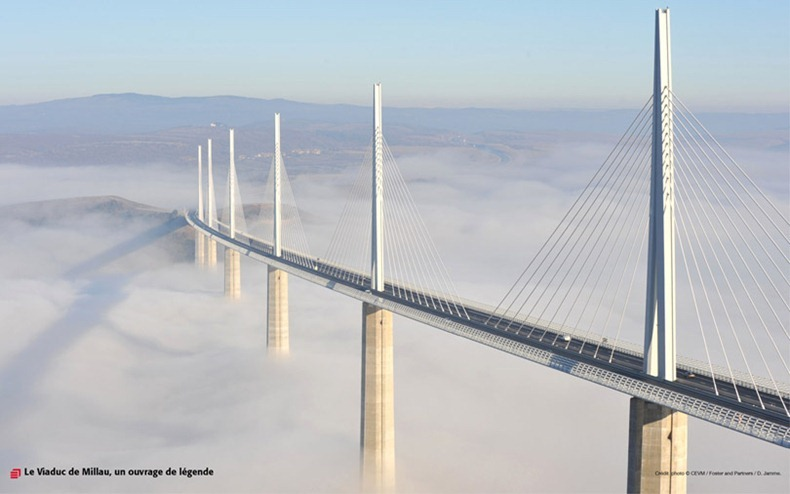Millau Viaduct, France: the Tallest Bridge in the World | Amusing Planet