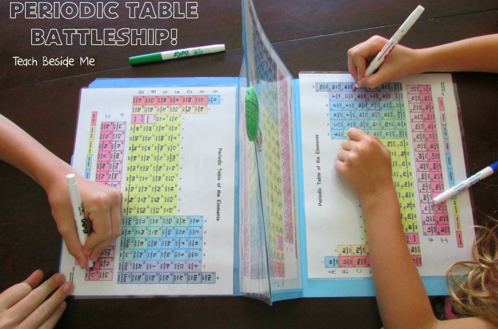 """You Just Sunk My Copernicium!"" Playing Periodic Table Battleship"