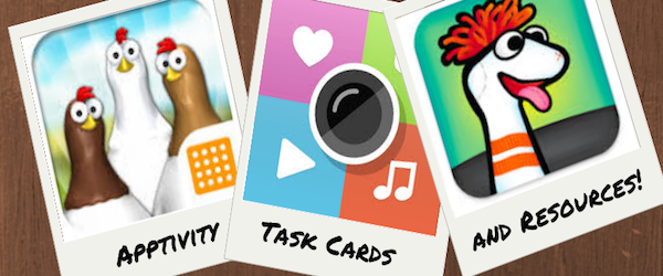 Apptivity Task Cards and Resources | Listly List