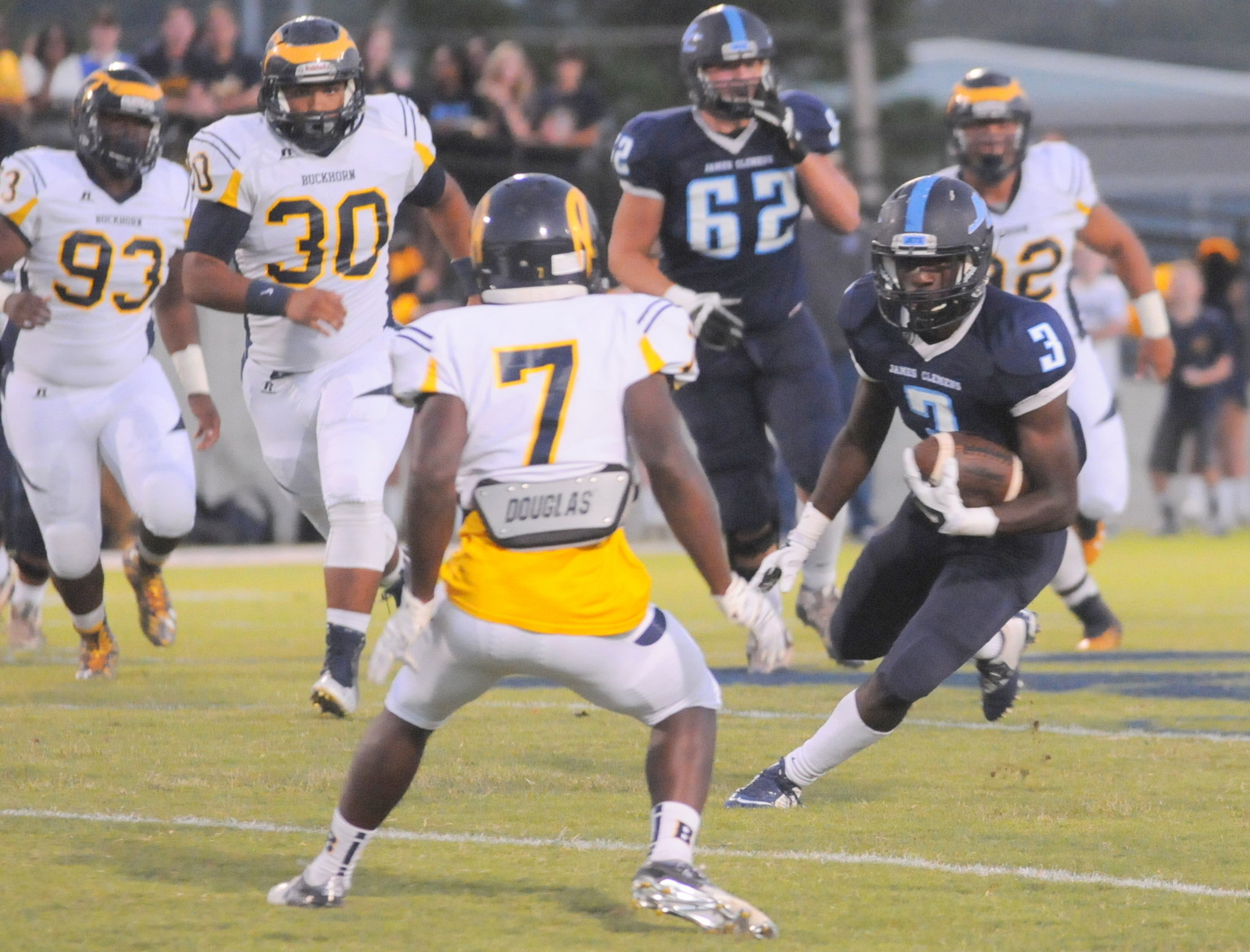 Buckhorn at James Clemens football