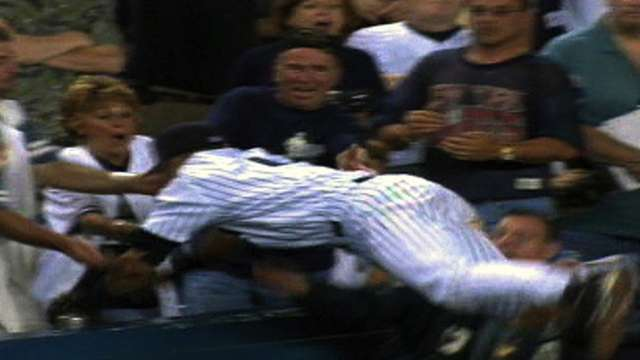 Jeter's diving catch