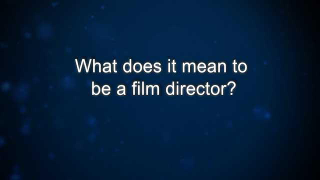 Curiosity: S. Smolan: What does it mean to be a film director? : Video : Discovery Channel