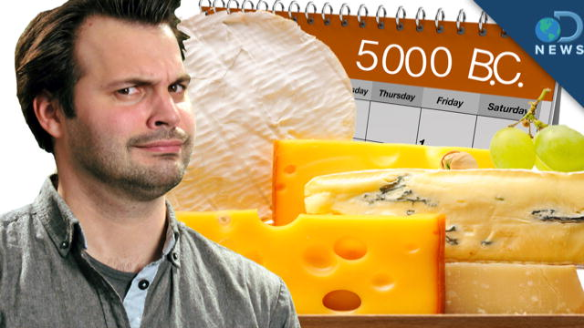 DNews: The SURPRISING History of Cheese : DNews