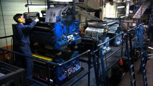 Machines!: Printing Press : Video : Science Channel